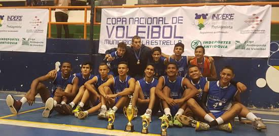 Campeones en voleibol y primeros lugares en BMXIUSH