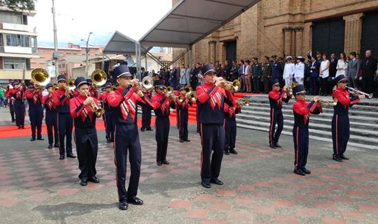 Salazar y Herrera presente en la conmemoración de la Independencia de ColombiaIUSH