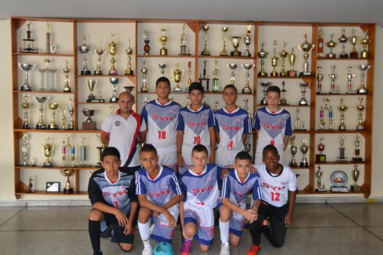 Escuela de Fútbol de Salón del Liceo campeón en Festival de ComfamaIUSH
