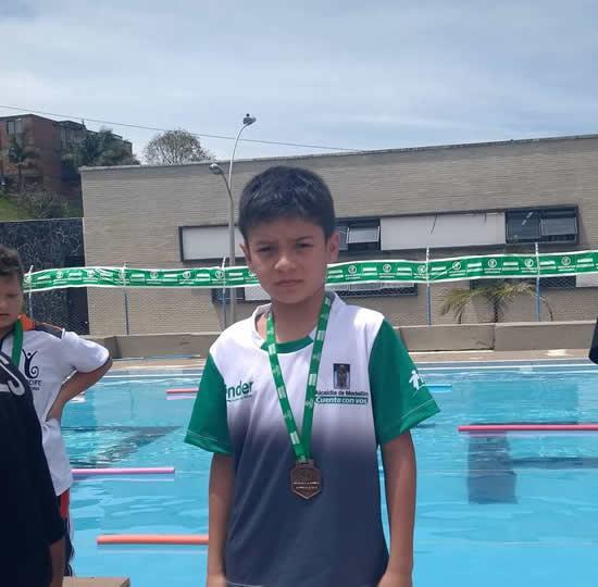 Estudiante del Liceo obtiene reconocimientos en Juegos Intercolegiados en GuatapéIUSH