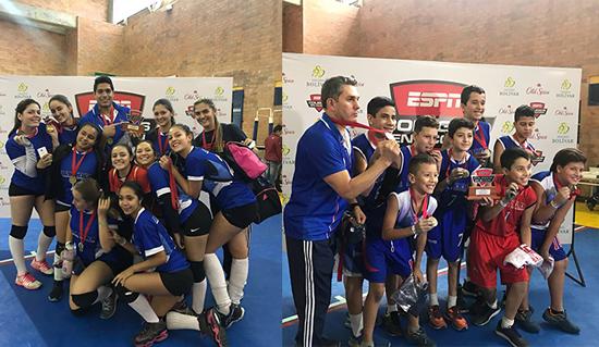Equipo de voleibol del Liceo campeón en torneo de ESPNIUSH