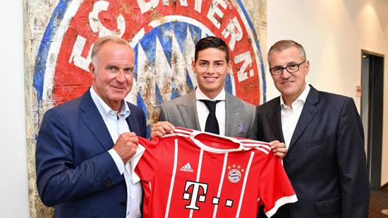 Los detalles del traspaso de James Rodríguez y su debut con el Bayern MunichIUSH