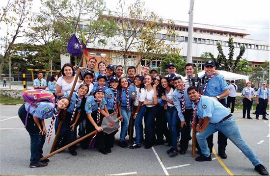 Grupo Scout del Liceo es reconocido a nivel Departamental    IUSH