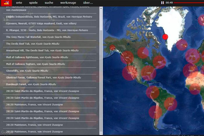 Un mapa para escuchar las ciudades y lugares del mundoIUSH