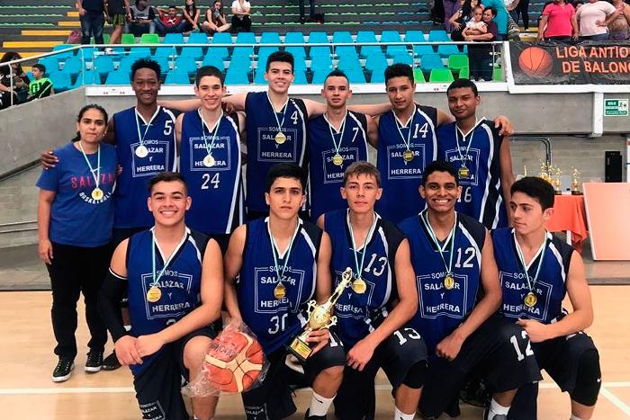 El Liceo SyH triunfa en torneo de baloncesto sub 17IUSH