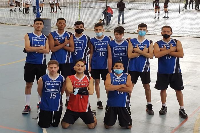 Club Deportivo de Voleibol, subcampeón nacional en III Torneo Interclubes.IUSH