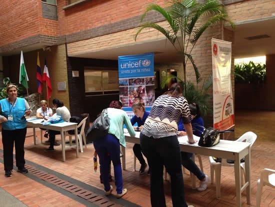 Unicef visitó al Liceo Salazar y HerreraIUSH