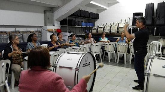 Inicia la Banda Marcial de Mayores en el LiceoIUSH